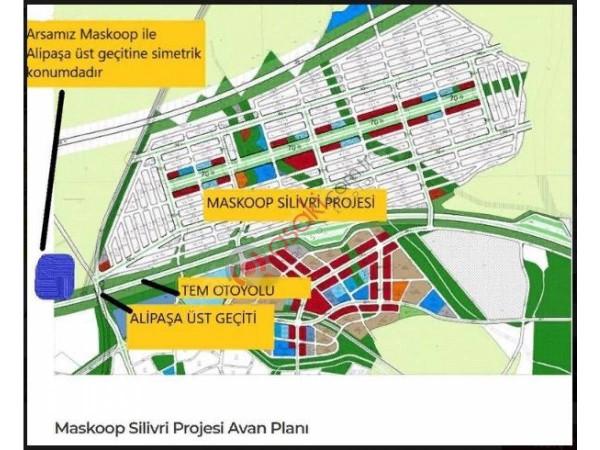 Silivri Alipaşa'da Satılık Tarla