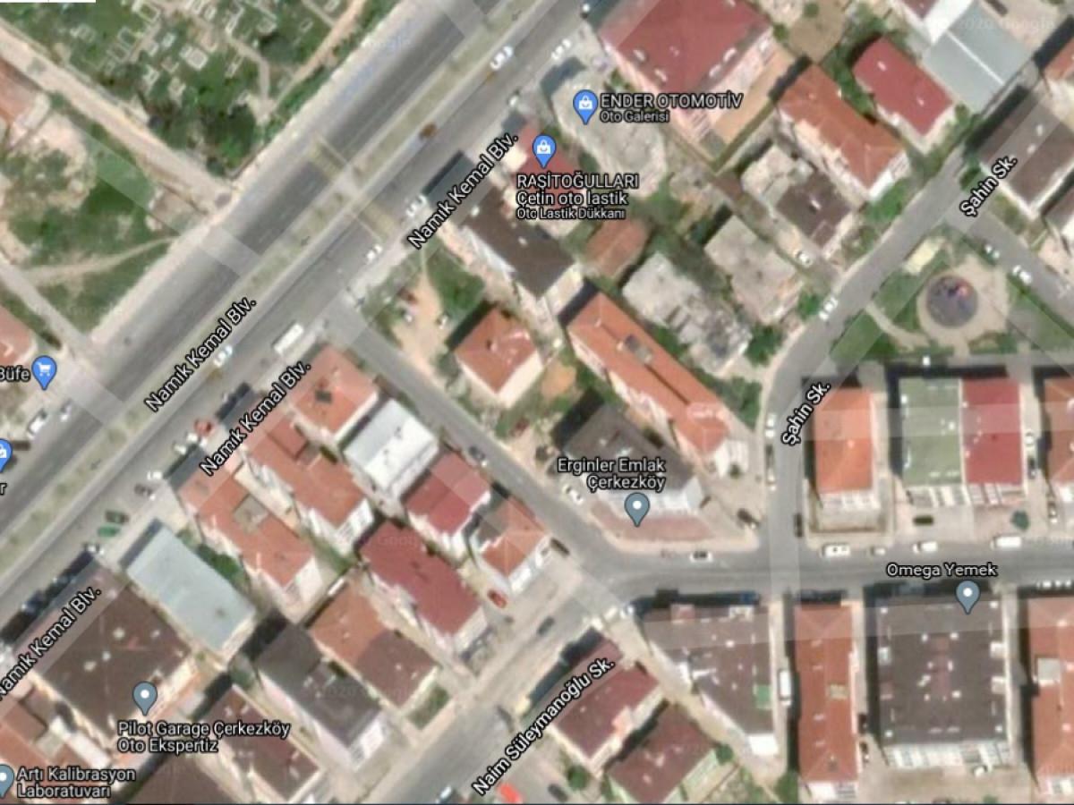 Tekirdağ Çerkezköy'de Konut İmarlı Satılık Arsa - Büyük 1