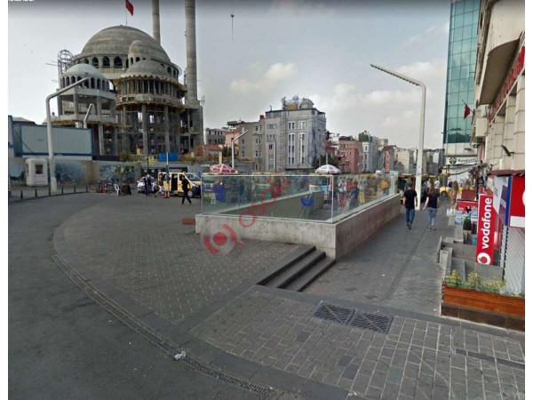 Taksim Meydan'da Satılık Arsa