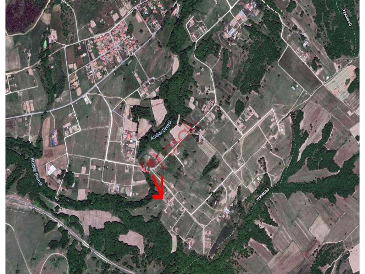 çerkezköy Ambardere'de Villa Imarlı Satılık Arsa - Büyük 0