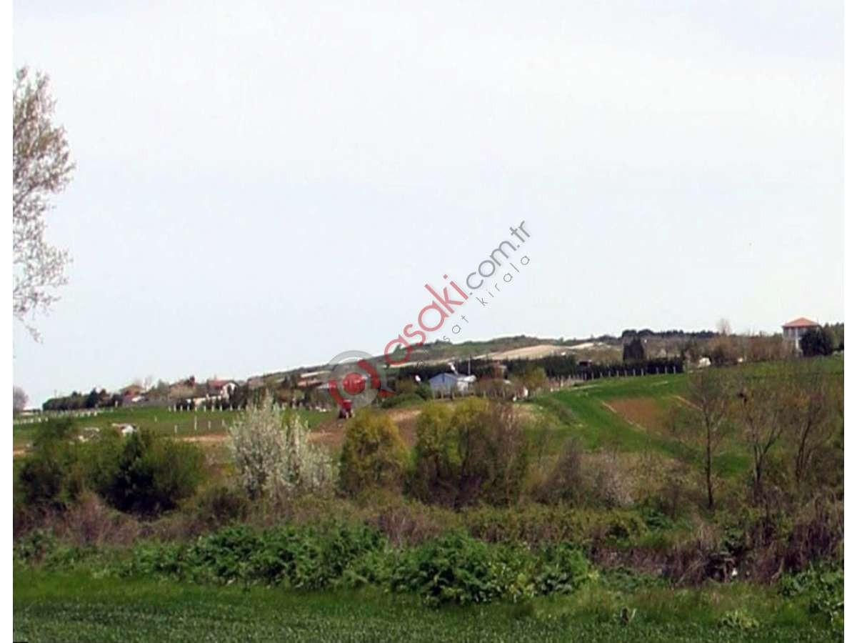 çatalca çanakça Köyün'de Yerleşim Içinde Satılık Arsa - Büyük 0