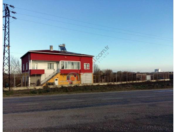 Kırklareli Lüleburgaz 'da Devlet Teşvik Onaylı çiflik + 2 Katlı Ev