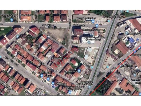 çorlu Hatip Mahallesin'de 152 M² Satılık Arsa