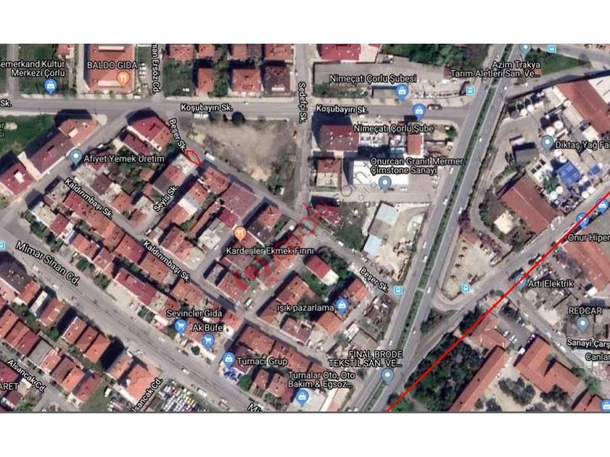 çorlu Hatip Mahallesin'de 152 M² Satılık Arsa - Büyük 0