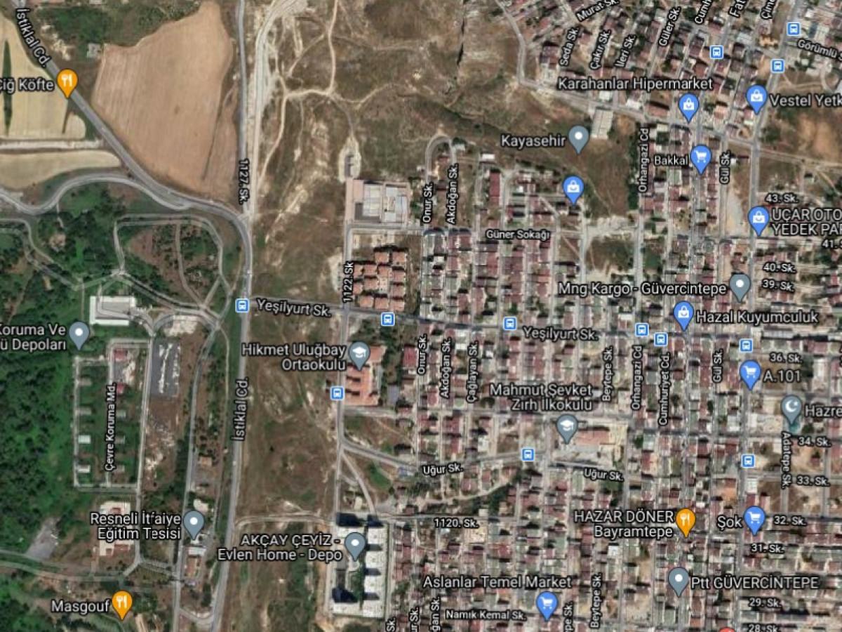 Acill Satilik  211 M2    Arsa Başakşehir Güvercintepe Mah - Büyük 0