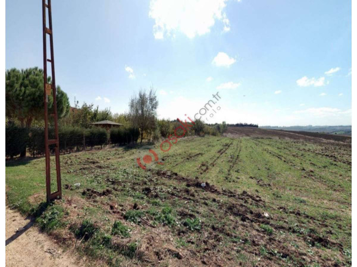 Silivri Kurfallı'da Köy Içinde  Elektirik Su Yol Olan Tarla - Büyük 0