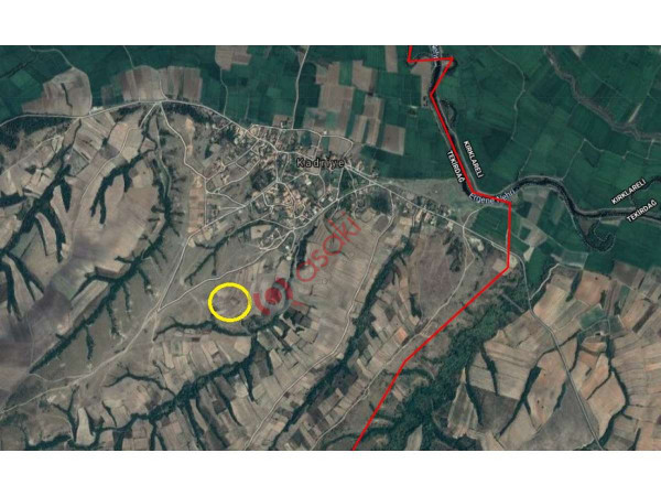 çatalca / Kestanelik Köyü Kiralik  Arsa