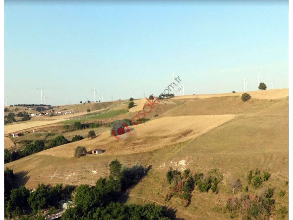 Silivri Değirmenköy'de Tek Tapu Satılık Tarla - Büyük 0