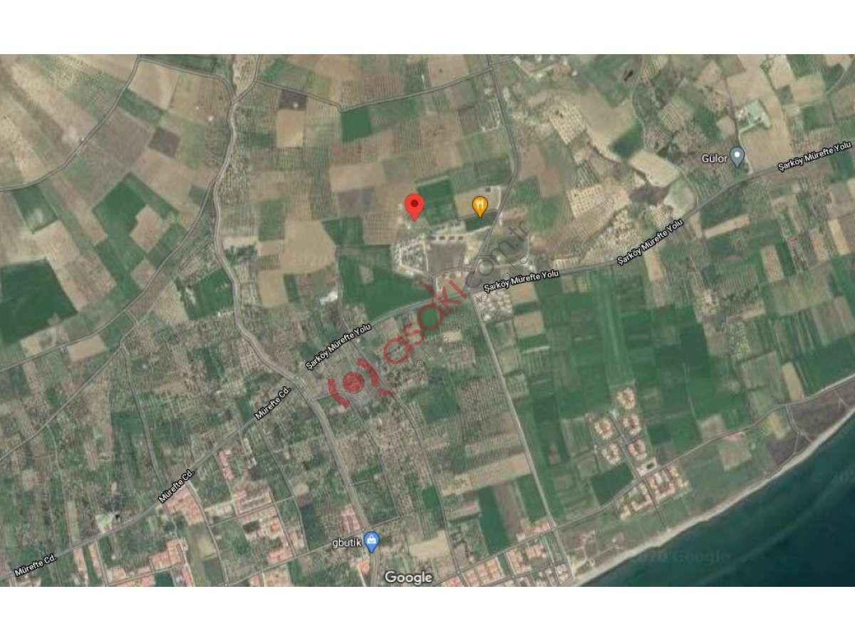 Sarköy'de 342 M2 2,5 Kat Villa Imarlı Arsa - Büyük 0