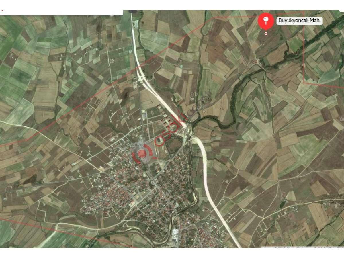Saray Büyükyoncalı'da Köşe Başı Arsa - Büyük 0