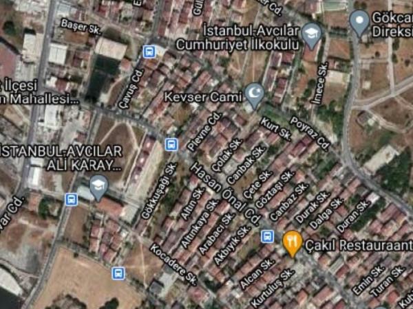 Avcılar firuzköy mahallesi 824 m2 Satılık Arsa