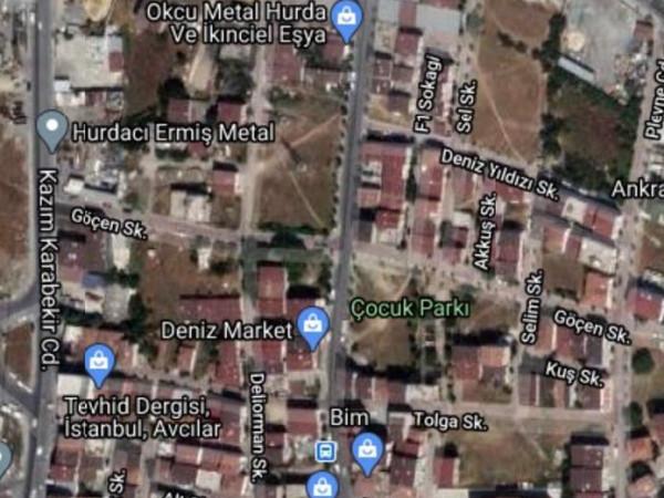 Avcılar firuzköy  mahallesi  400 m2 imarlı Satılık Arsa