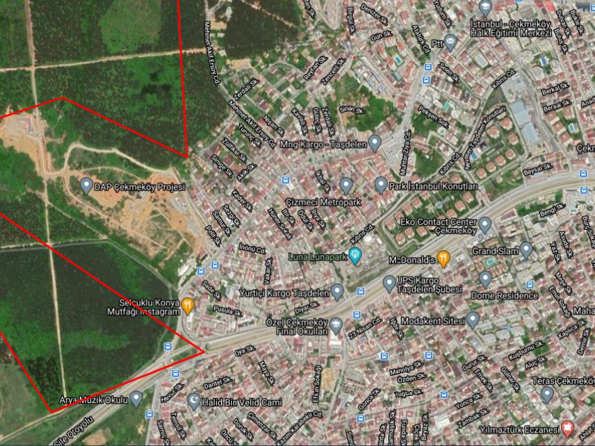 Çekmeköy Taşdelen 187.750,00 m2 Kat Karşılığı Arsa - Büyük 4