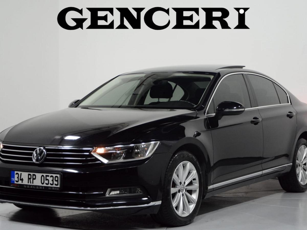 2016 VW PASSAT COMFORTLINE CAM TAVAN DÜŞÜK KM - Büyük 3