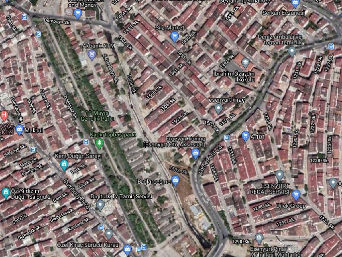 Esenyurt Pınar Mh 160 m2 Arsası Satılık Bina - Büyük 2