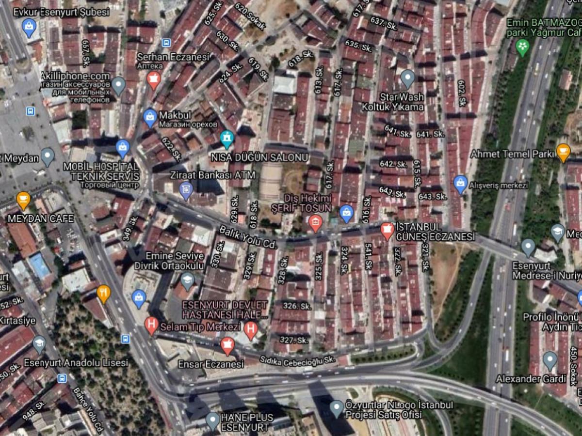 Esenyurt'ta Hem Satılık Hem Kat Karşılığı 4.425 m2 - Büyük 0
