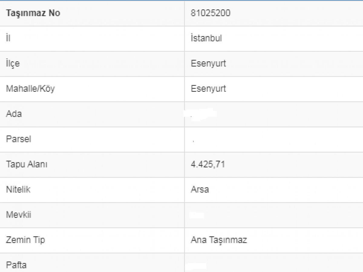 Esenyurt'ta Hem Satılık Hem Kat Karşılığı 4.425 m2 - Büyük 2