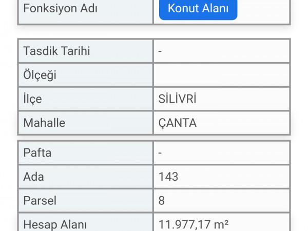 YATIRIMLIK 544m2 KONUT İMARLI ARSA
