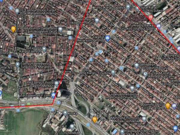 Avcılar Mustafa Kemal Paşa Mh Kentsel Dönüşüme Uygun Bina