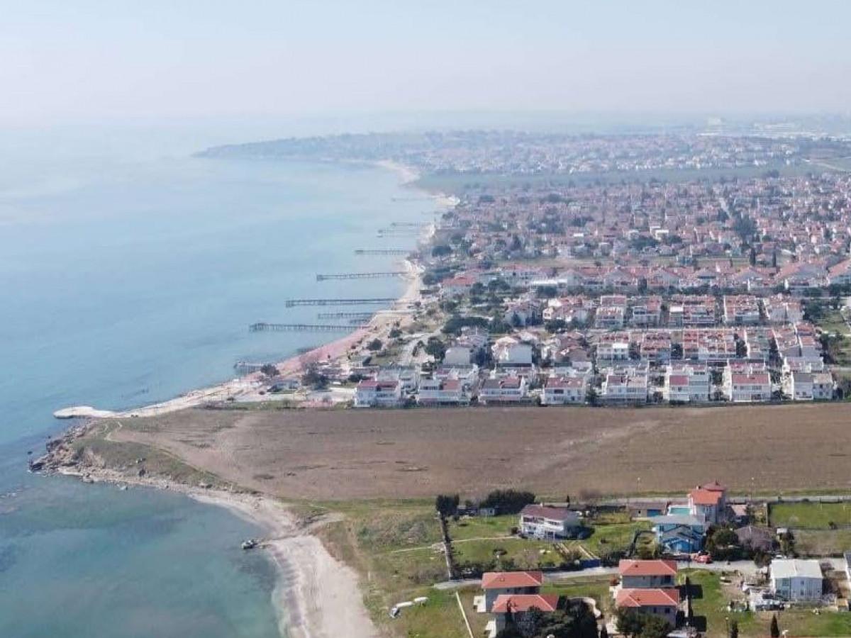 Silivri Semizkumlarda Deniz Manzaralı Satılık Arsa - Büyük 0