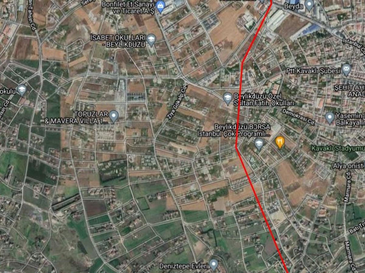 BEYLİKDÜZÜ GÜRPINAR MAH 799 m² VİLLA İMARLI SATILIK ARSA - Büyük 0