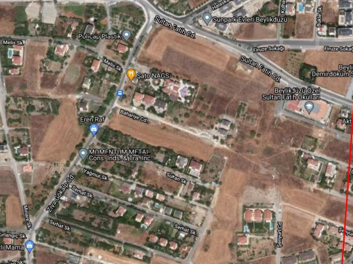 BEYLİKDÜZÜ GÜRPINAR MAH 799 m² VİLLA İMARLI SATILIK ARSA - Büyük 1