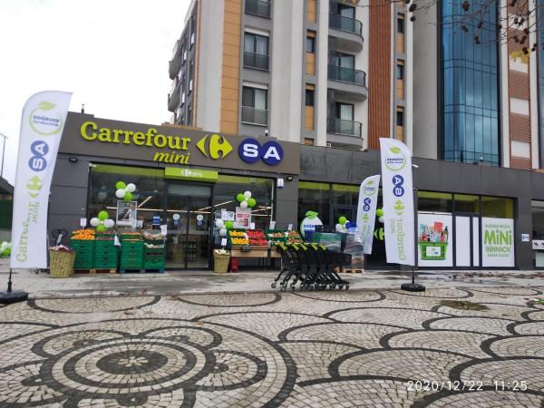 Sancaktepe Samandıra'da Ravza Caddesine Cephe Satılık Dükkan