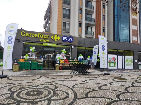Sancaktepe Samandıra\'da Ravza Caddesine Cephe Satılık Dükkan